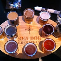 Photo taken at Sea Dog Brewing Company by Luis S. on 3/10/2012