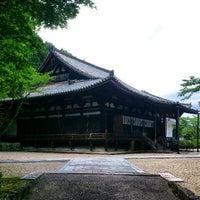 Photo taken at 霊山寺 by Izumi T. on 6/17/2012