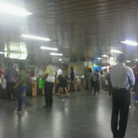 Photo taken at MetrôRio - Estação Central by Joyce F. on 5/23/2012