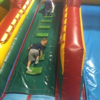 Photo taken at Jumping Jungle by Jillian C. on 6/15/2012