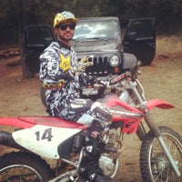 Photo taken at Escuela De Motocross MX2 by Ricardo G. on 4/15/2012