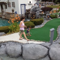 Photo taken at Cape Escape Adventure Golf by Gary F. on 7/1/2012