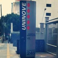 Photo taken at Universidade Nove de Julho (Uninove) by Helida C. on 6/14/2012