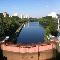 Photo taken at Шлюз № 9 канала имени Москвы by Vlad M. on 7/1/2012