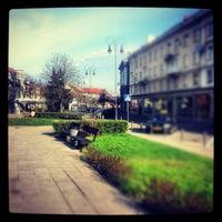 Photo taken at Vokiečių gatvė by T B. on 4/25/2012