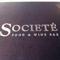 Photo taken at Societé Food And Wine Bar by Marie A. on 3/24/2012