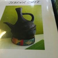 Photo taken at Jebena Cafe by Angelina C. on 5/14/2012