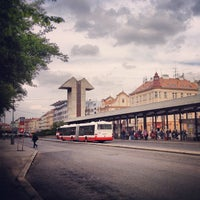 Photo taken at Smíchovské nádraží (tram, bus) by Zdenêk M. on 4/24/2012