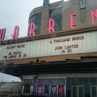 Photo taken at Warren Theatres by Braeden W. on 3/11/2012