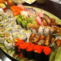 Photo taken at Sushi Palace by Daniel on 8/18/2012