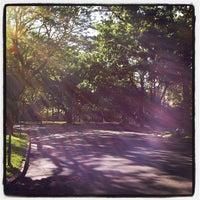 Photo taken at Flagpole Green - Forest Hills Gardens by Pankaj J. on 5/19/2012