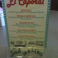 Photo taken at El Caporal by Todd B. on 6/22/2012