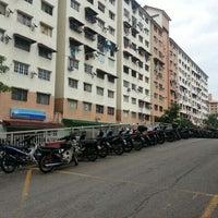 Photo taken at Block 21 Taman Bukit Angkasa by Borhanuddin A. on 8/31/2012