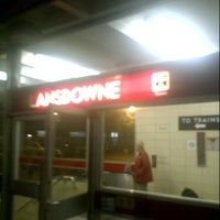 Photo taken at Lansdowne Subway Station by John E. on 6/29/2012