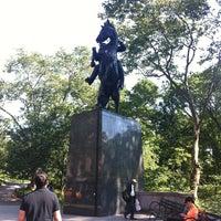 5/31/2012 tarihinde Ali A.ziyaretçi tarafından Simon Bolivar Statue'de çekilen fotoğraf