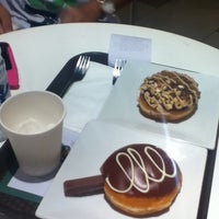Photo taken at Krispy Kreme by Angel R. on 5/31/2012