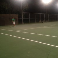Photo taken at Tenney Park Tennis Courts by Eleanor B. on 8/15/2012