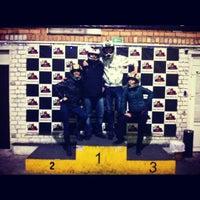 Photo taken at Картинг клуб ЛеМан by Olia Z. on 3/31/2012