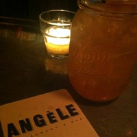 Photo taken at Angèle Restaurant & Bar by Harris O. on 9/7/2012