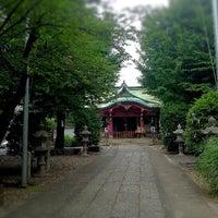 Photo taken at 市谷亀岡八幡宮 by imi y. on 7/6/2012