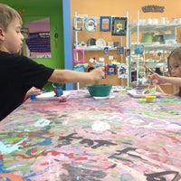 Photo taken at Painting Fun Spot by Elyse B. on 8/11/2012