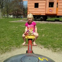 Photo taken at Dell Rapids Park by Marcy A. on 4/24/2012