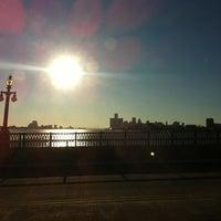Photo taken at MacArthur Bridge by Mike S. on 2/12/2012