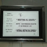 Photo taken at Meeting & Management Centre - Surabaya Town Square by Pudya A. on 3/13/2012