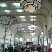 Photo taken at Cardiff Central Railway Station (CDF) by Luke M. on 2/3/2012