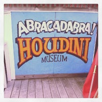 Photo taken at Houdini Museum, Tour & Magic by Stacy D. on 9/1/2012