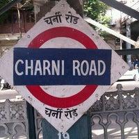 Photo taken at Charni Road Railway Station by Kalpesh J. on 4/29/2012