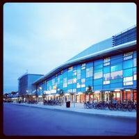 Photo taken at Halmstad Arena by jonas_halmstad on 3/18/2012
