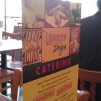Photo taken at Jerry's Wood-Fired Dogs by Sean Y. on 5/2/2012