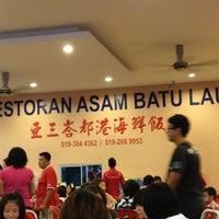 Photo taken at Restaurant Asam Batu Laut, Tg Sepat by Kwee Choo M. on 3/11/2012