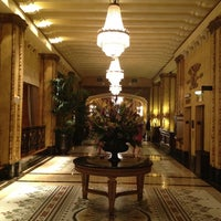 Photo taken at The Roosevelt New Orleans by Jay A. on 8/5/2012