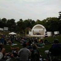 Photo taken at Devou Park Band Shell by Lisa A. on 8/4/2012