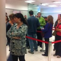 Photo taken at Banco Santander by Matías Q. on 4/30/2012