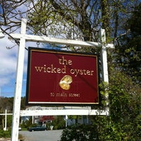 Photo taken at The Wicked Oyster by Jennifer S. on 5/6/2012