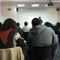 Photo taken at Facultad De Ingeniería Y Negocios UDLA República by Rodrigo V. on 9/1/2012