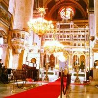 Photo taken at Hagia Triada Greek Orthodox Church by Murat T. on 2/19/2012