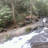 Photo taken at Air Terjun Sg. Gabai (Waterfall) by Xhah I. on 4/21/2012