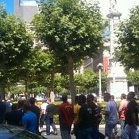 Photo taken at Plaza de la Inmaculada by Pabel Enrique on 7/5/2012