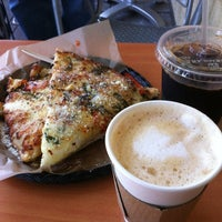 Photo taken at Arizmendi Bakery & Pizzeria by Pamela R. on 4/24/2012