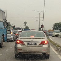 Photo taken at Traffic Light Jalan Salleh by Law J. on 3/14/2012