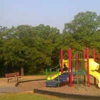Photo taken at Burns Park Playground by Hello Couture on 3/31/2012