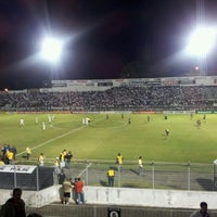 Photo taken at Estádio Moisés Lucarelli by Marcelo T. on 7/8/2012