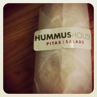 Photo taken at Hummus House Pitas and Salads by Tim H. on 5/18/2012