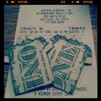 Photo taken at Applebee's by Marissa M. on 2/24/2012