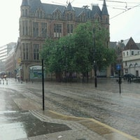 Photo taken at Cathedral Tram Stop by Paweł G. on 8/25/2012