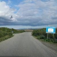 Photo taken at Munaðarnes by Hjalti R. on 6/11/2012